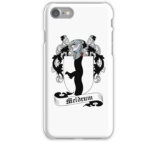 Meldrum  iPhone Case/Skin