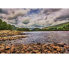 Thirlmere Shoreline Looking North  Photographic Print