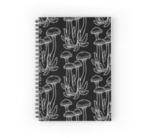 Shrooms in White Spiral Notebook