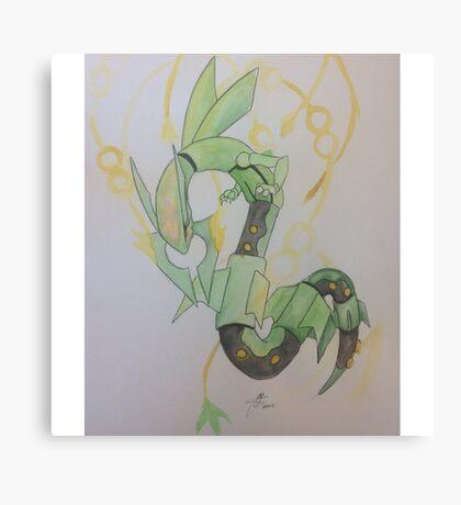 Rayquaza - Pokemon Canvas Print