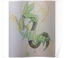 Rayquaza - Pokemon Poster