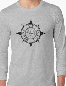 Uncharted Adventure (black) Long Sleeve T-Shirt