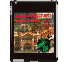 MELBOURNE THE WORLD LOVE YOU. iPad Case/Skin