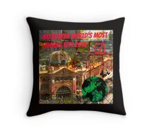MELBOURNE THE WORLD LOVE YOU. Throw Pillow