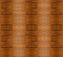 Rustic Wooden Board Pattern by Skye Ryan-Evans