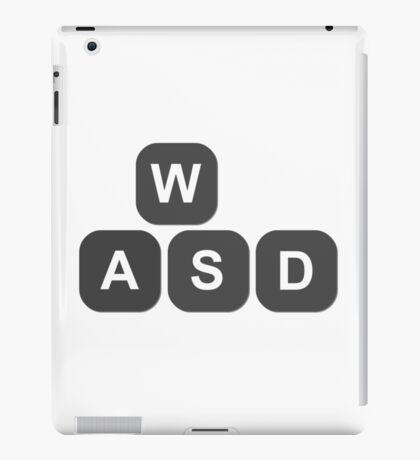 Video Game Addiction PC Gamers Keyboard Keys Controls iPad Case/Skin