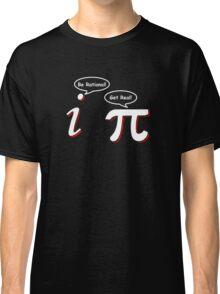 Be Rational Get Real Funny Math Tee Pi Nerd Nerdy Geek Classic T-Shirt