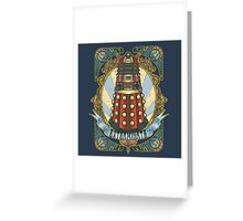 Dalek New-Nouveau Greeting Card