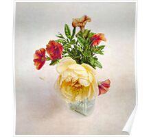 Small Summer Bouquet Poster