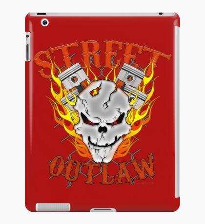 Street Outlawed iPad Case/Skin