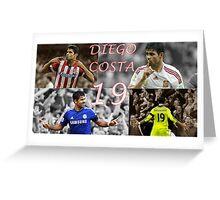 Diego Costa  Greeting Card