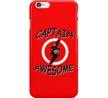 CAPTAIN AWESOME Funny Humor iPhone Case/Skin
