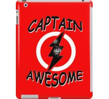 CAPTAIN AWESOME Funny Humor iPad Case/Skin
