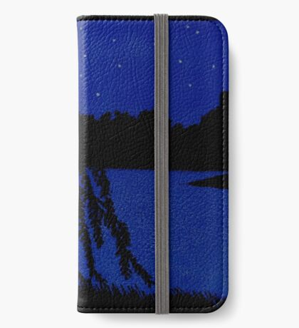 Lakeside Willow iPhone Wallet/Case/Skin