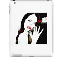 Red abandon iPad Case/Skin