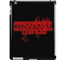 Run from the things iPad Case/Skin