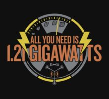 All You Need Is 1.21 Gigawatts by omega-level