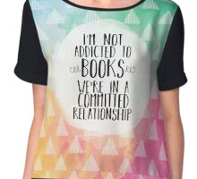 Committed Relationship (Watercolors) Chiffon Top