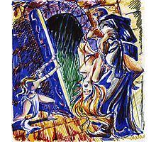 Conan-fantasy illustration 2 Photographic Print