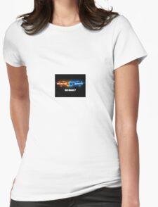 got boost? Womens Fitted T-Shirt