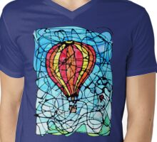 Festival in Flight Mens V-Neck T-Shirt