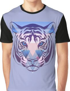 Tiger Hipster Animals Gift Graphic T-Shirt