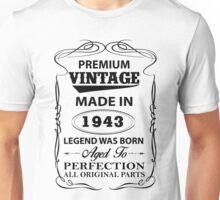 Premium Vintage 1943 Aged To Perfection Unisex T-Shirt