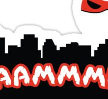 Daaammmnnn!!! Sticker