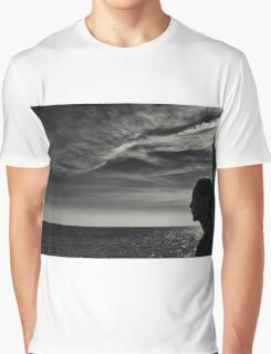 Looking Out To Sea Graphic T-Shirt