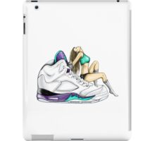 Grape 5 Jordan Girl iPad Case/Skin
