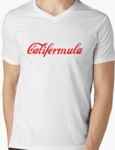 Califormula Mens V-Neck T-Shirt