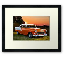 1955 Chevrolet Bel Air Hardtop Framed Print