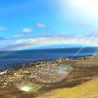 RAINBOW OVER MAUI by WhiteDove Studio kj gordon