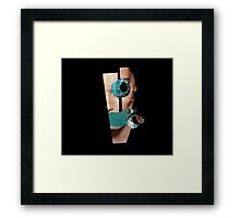 Stone Eyes  Framed Print