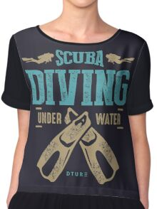 Scuba Diving Chiffon Top