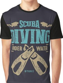 Scuba Diving Graphic T-Shirt