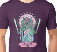 Crystal Temple Fusion Unisex T-Shirt