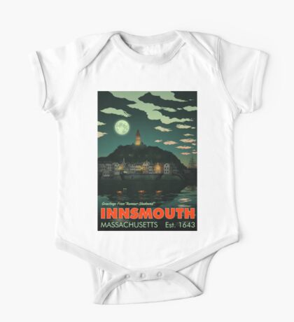 Greetings from Innsmouth, Mass One Piece - Short Sleeve