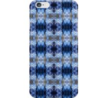 snowflake in blue 8 pattern iPhone Case/Skin