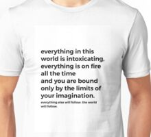 AND A NEW EARTH Unisex T-Shirt