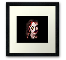 Wings Come With Red  Framed Print
