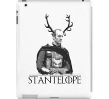 Stantelope - Stannis Baratheon with horns iPad Case/Skin