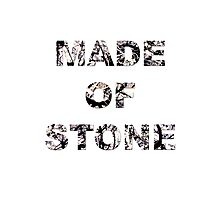 Stone Roses - Made of Stone Artwork  Photographic Print