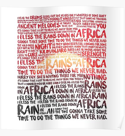 Africa - Toto Poster