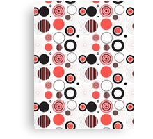 Abstract seamless pattern Canvas Print