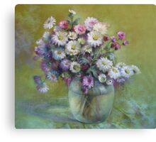 Bouquet of autumn Canvas Print