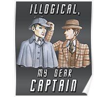 Star Trek/Sherlock Holmes Poster