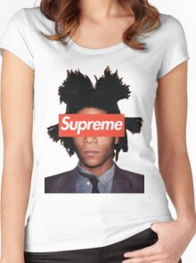Basquiat X Supreme Women's Fitted Scoop T-Shirt