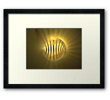 Copper Wires Framed Print