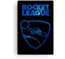 Rocket League Minimalist Nebula Design Canvas Print